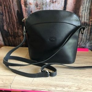Vintage black Longchamp Crossbody Purse